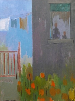 Herman Maril: Clothesline and Flowers