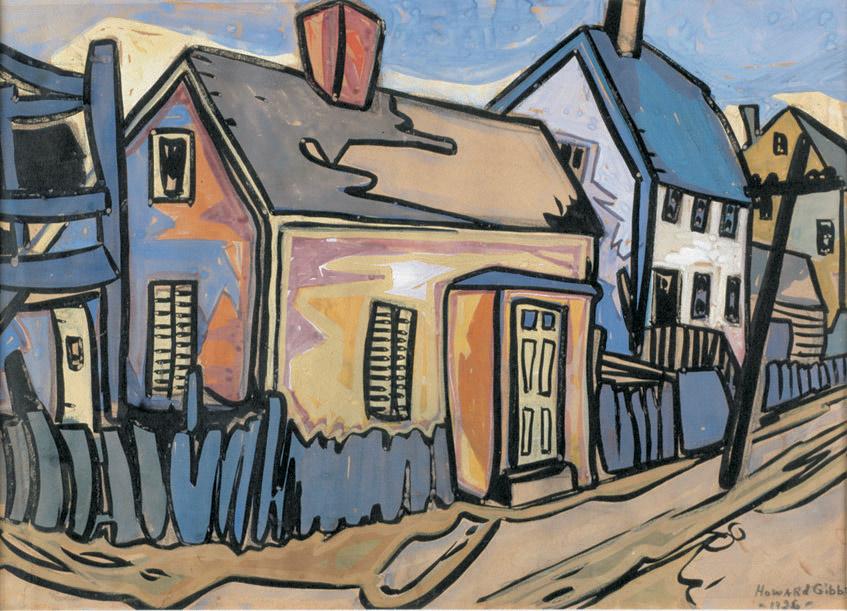 Howard Gibbs: Provincetown Street