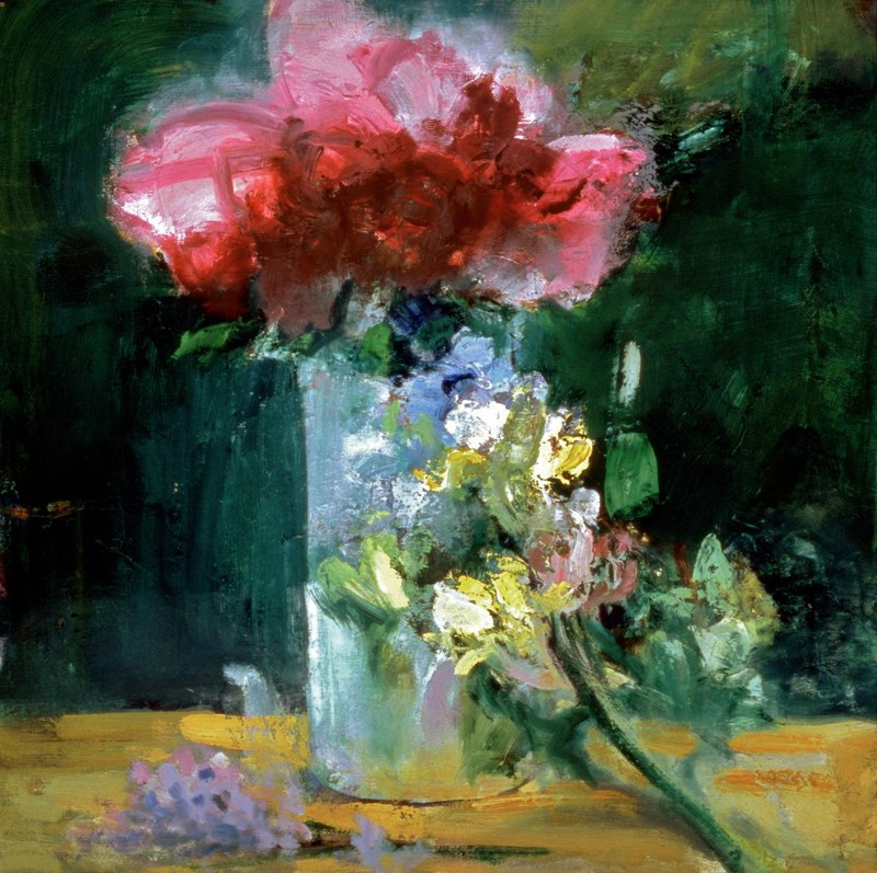 Donald Beal: Flowers 2 (Chardin)