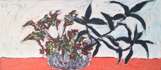 Nanno de Groot: Plant on Red Table