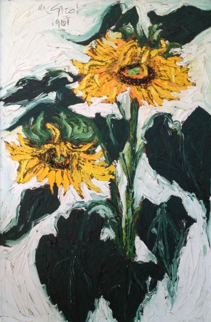 Nanno de Groot: Sunflowers