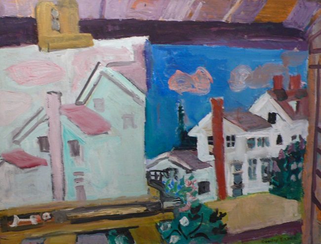 Dorothy Eisner: Paintings of a House