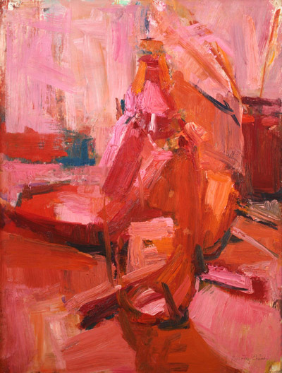 Dorothy Eisner: Still Life in Reds