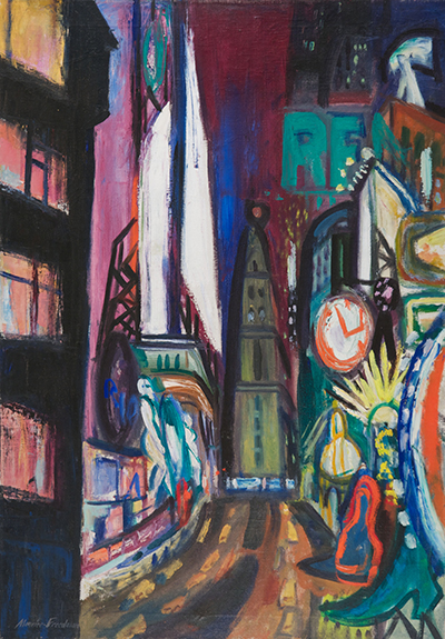 Maurice Freedman: Broadway Night