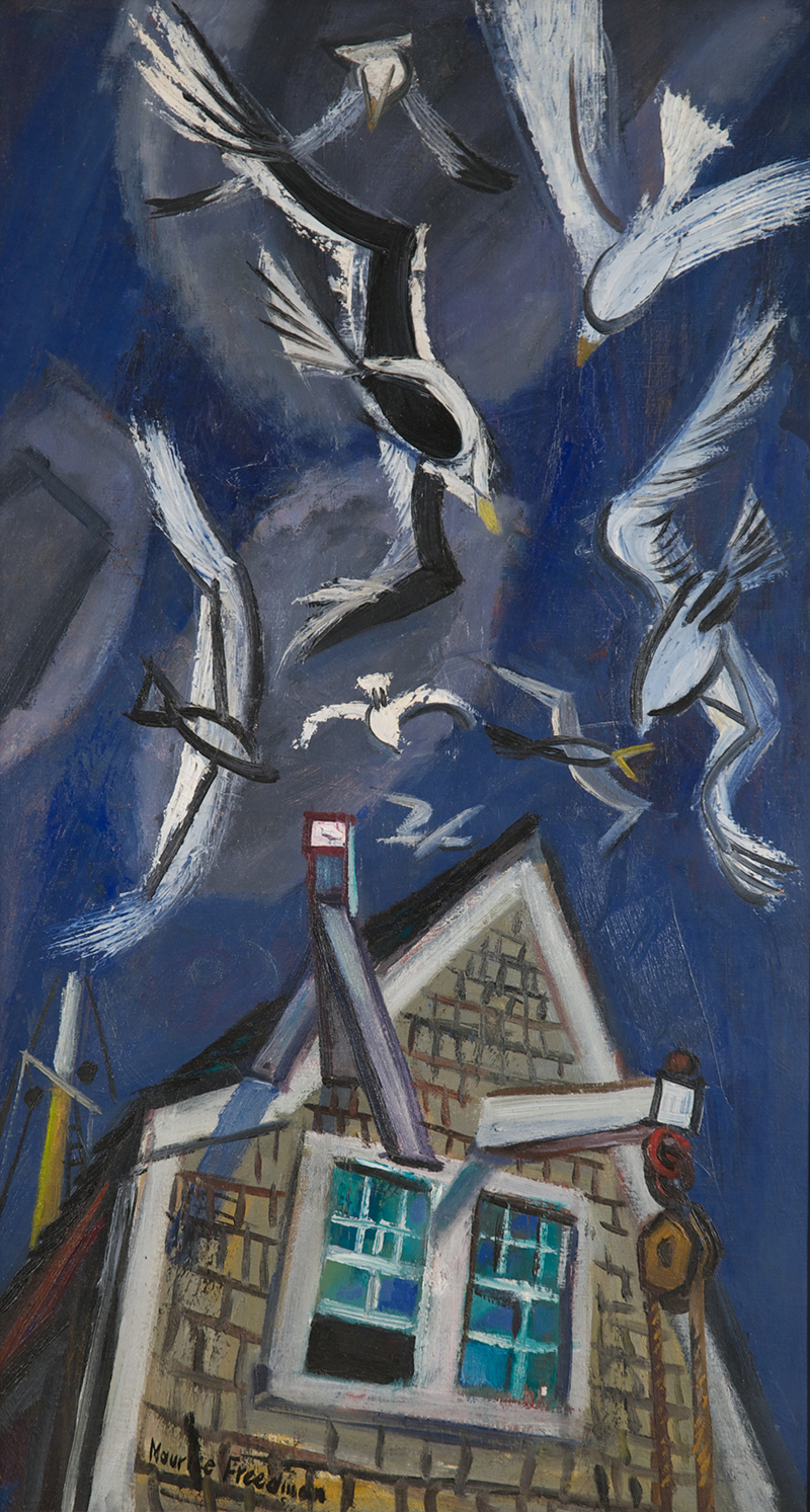 Maurice Freedman: Flight over Truro