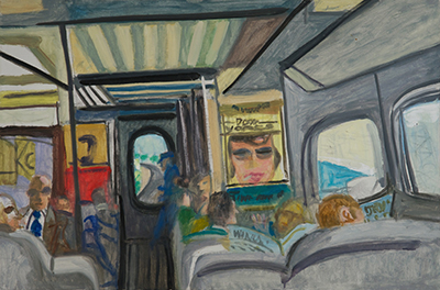 Maurice Freedman: Train to New York