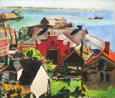 Charles Heinz: Page's Garage, Provincetown