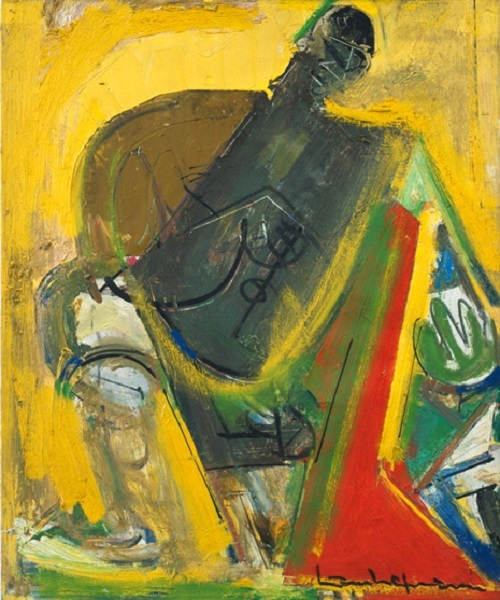 Hans Hofmann: Polynesian 1 (small version)