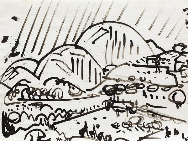 Hans Hofmann: Untitled Landscape