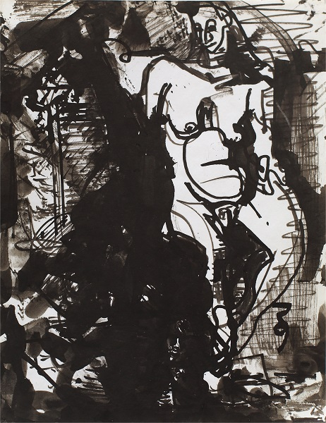 Hans Hofmann: Untitled Figure