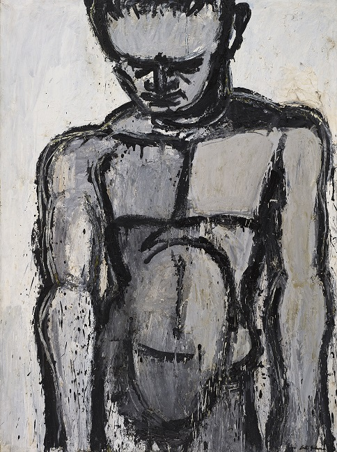Lester Johnson: Polyklitan Figure