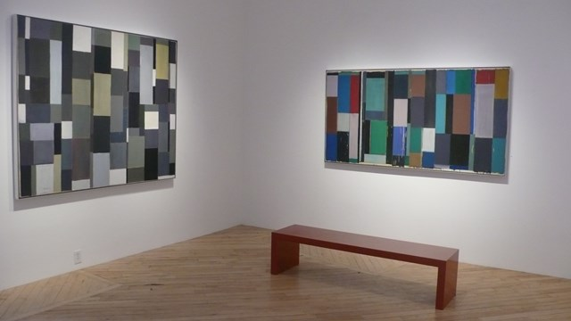 Pat Lipsky: Twenty Years: Installation Shot