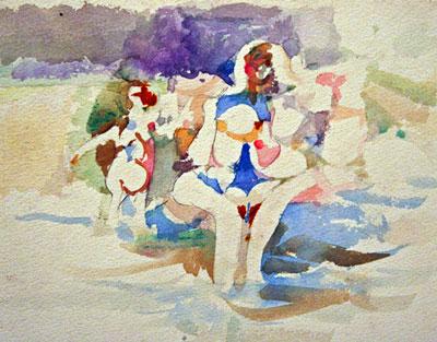 Charles Littler: Untitled Nudes #2