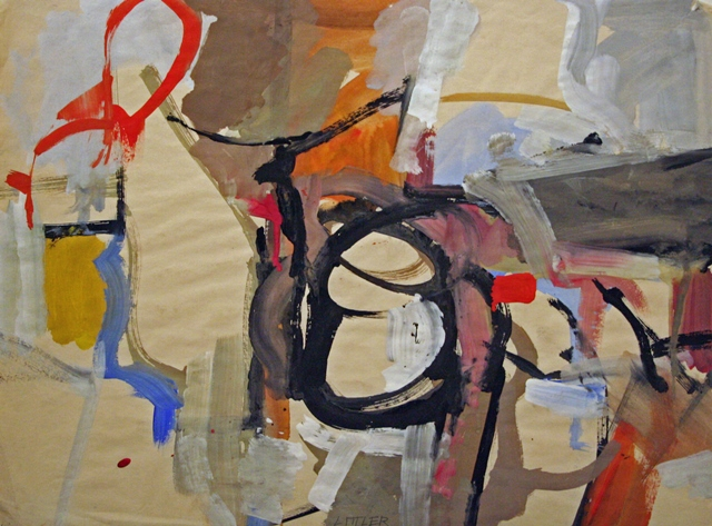 Charles Littler: Untitled Abstract