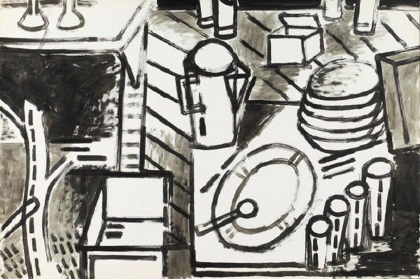 George Lloyd: Still Life with Dirty Dishes