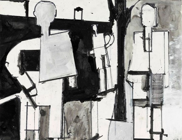 George Lloyd: Three Figures in Landscape