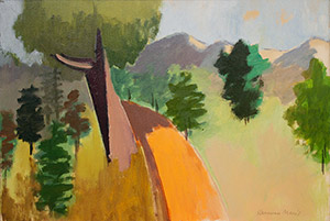 Herman Maril: Approach to the Adirondacks