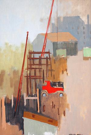 Herman Maril: Diagonal with Truck