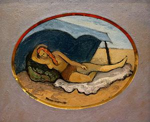 Herman Maril: Resting