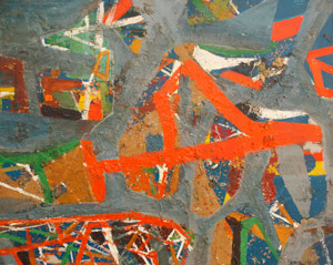 George McNeil: Augury Abstraction