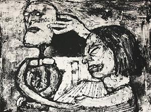 George McNeil: Blind Lovers #2
