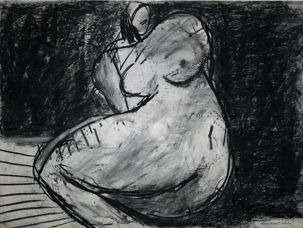 George McNeil: Figure Sketch