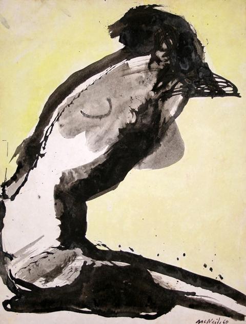 George McNeil: Pensive