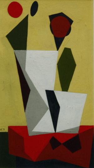 Kenneth Stubbs: Geometric Still Life
