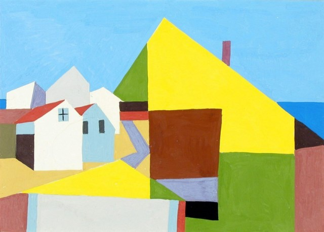 Kenneth Stubbs: Houses and Ocean (CM534)