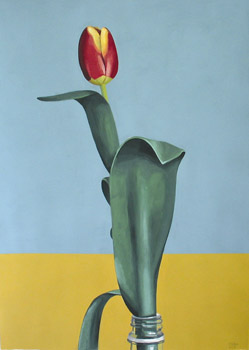 Richard Baker: Tulip in Bottle