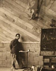 Maurice Berezov: Fritz Bultman (1919-1985), Provincetown Studio