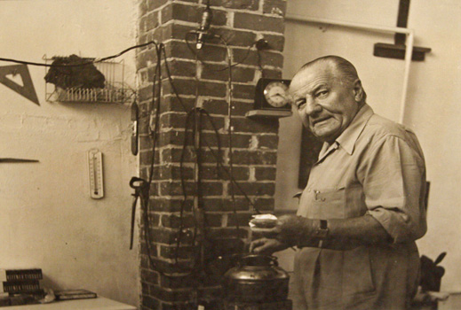 Maurice Berezov: Hans Hofmann (1880-1966), Provincetown Studio