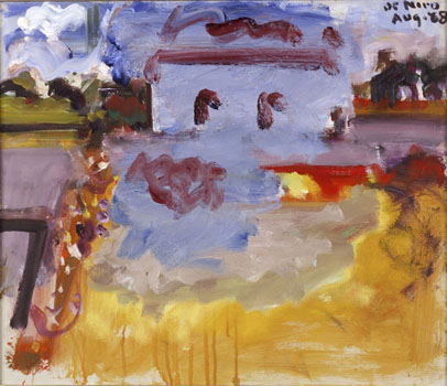 Robert De Niro Sr.: Landscape with Blue Building