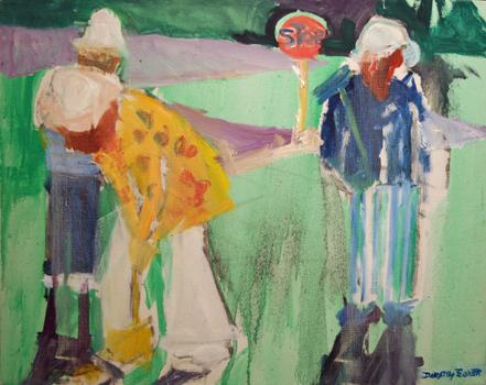 Dorothy Eisner: Croquet VI