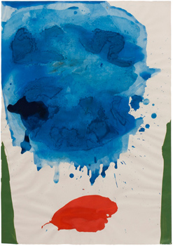 Helen Frankenthaler: Two Pillars
