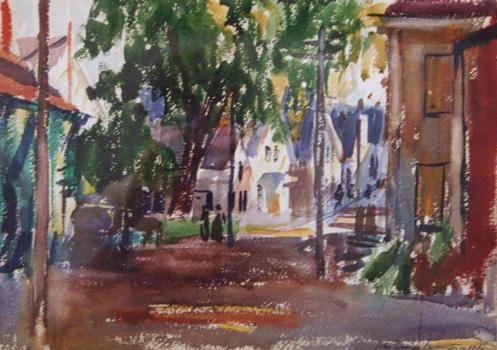 John Frazier: Bradford Street at Pearl