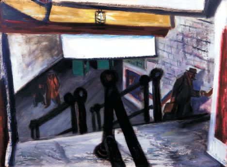 Maurice Freedman: Exiting the Subway