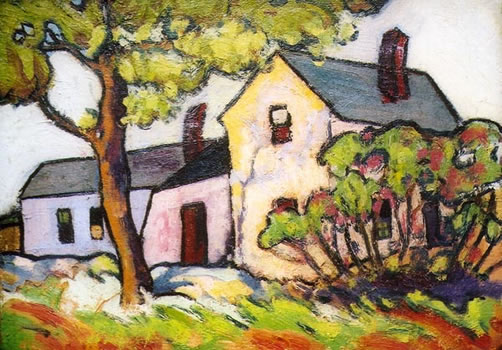 Howard Gibbs: House with Shade Trees