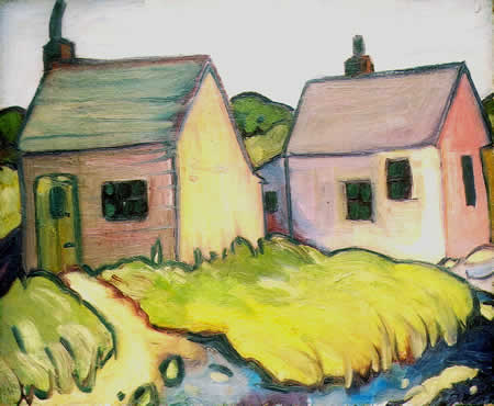 Howard Gibbs: Two Cottages