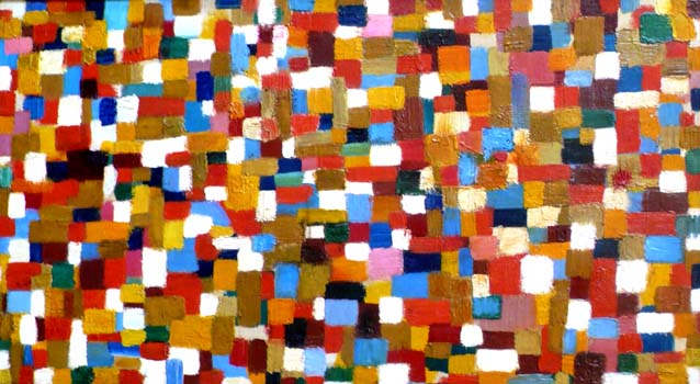 John Grillo: Untitled Mosaic (10-11)