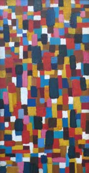 John Grillo: Untitled Mosaic (10-12)