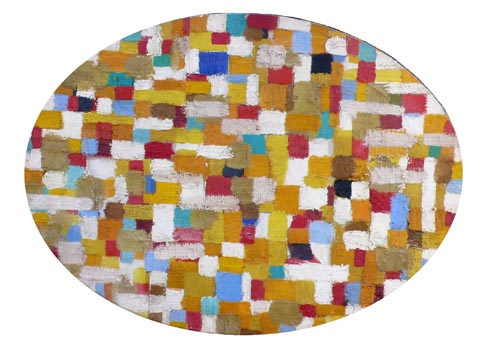John Grillo: Untitled Mosaic (Oval)