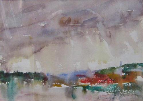 Charles Webster Hawthorne: Provincetown Landscape # 3