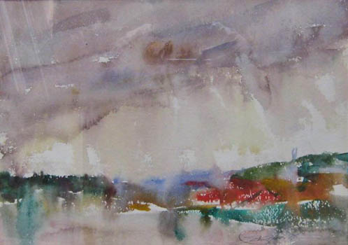 Charles Webster Hawthorne: Provincetown Landscape #3
