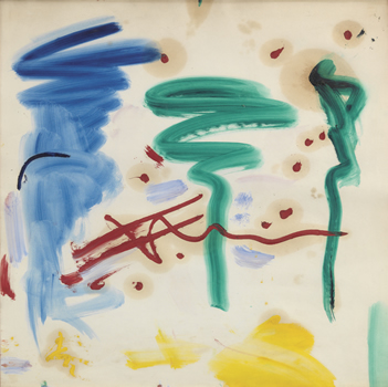 Hans Hofmann: Untitled Mural Sketch