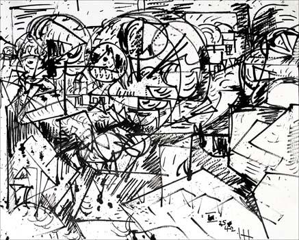Hans Hofmann: Untitled (Landscape)