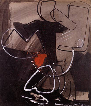 Hans Hofmann: Still Life in Red and Black