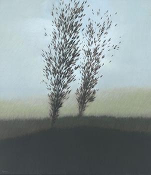 Robert Kipniss: Landscape with Green Hills