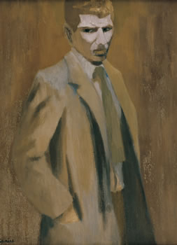 Robert Kipniss: Self Portrait