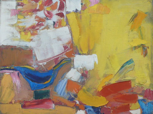 Charles Littler: Yellow Abstraction
